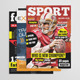 Sport Magazine Bundle Vol3 - GraphicRiver Item for Sale