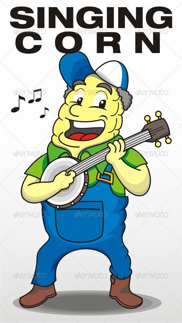 GraphicRiver Singing Corn 7596114