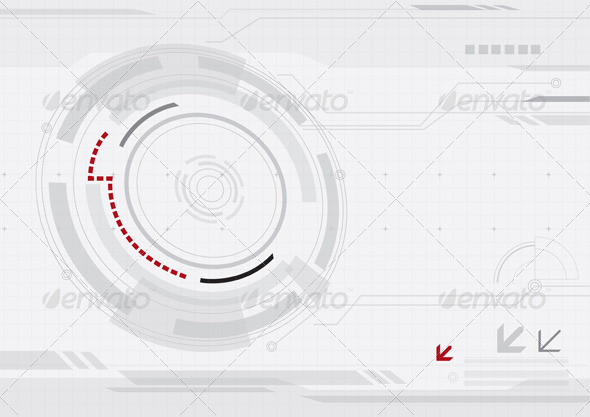 GraphicRiver Abstract Network Technology Background 7596254