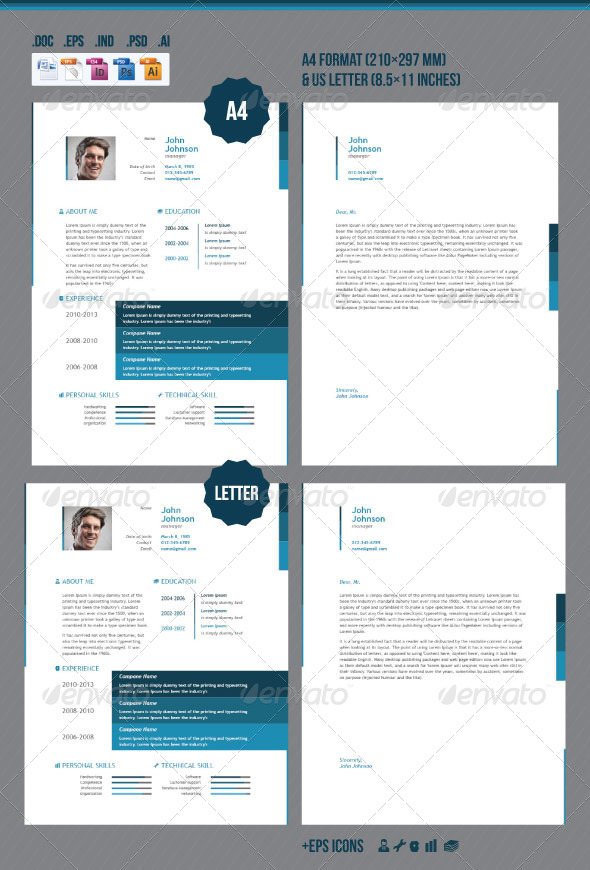 GraphicRiver Business Resume 7349916
