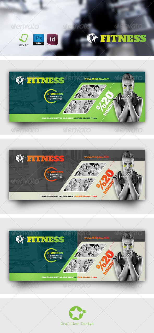GraphicRiver Fitnes Salon Timeline Templates 7597315