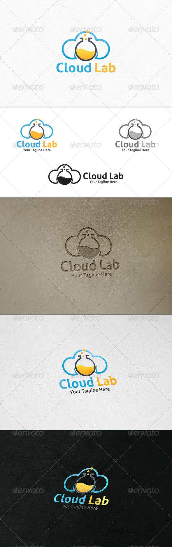 GraphicRiver Cloud Lab Logo Template 7597404