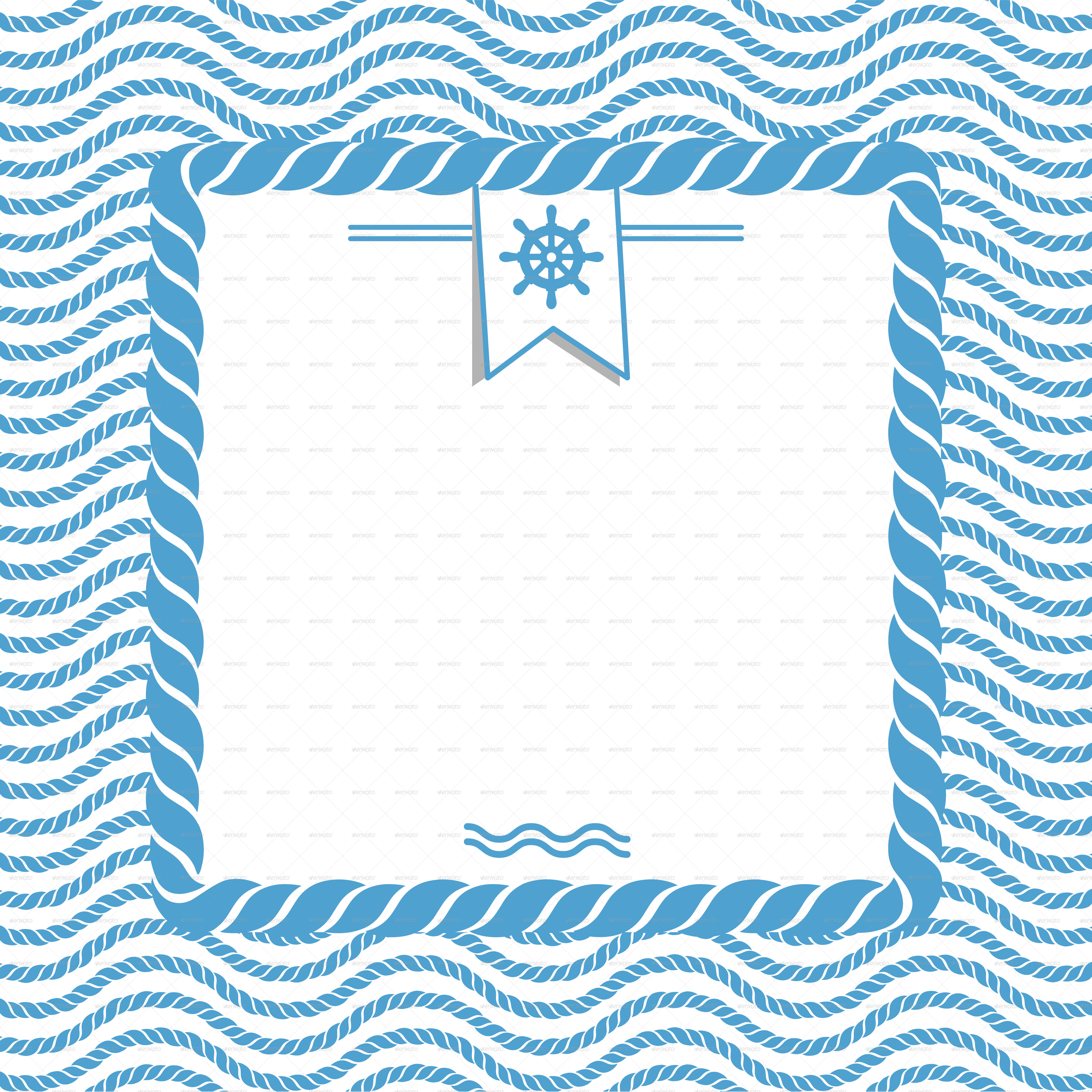 nautical background with ropes by valru graphicriver