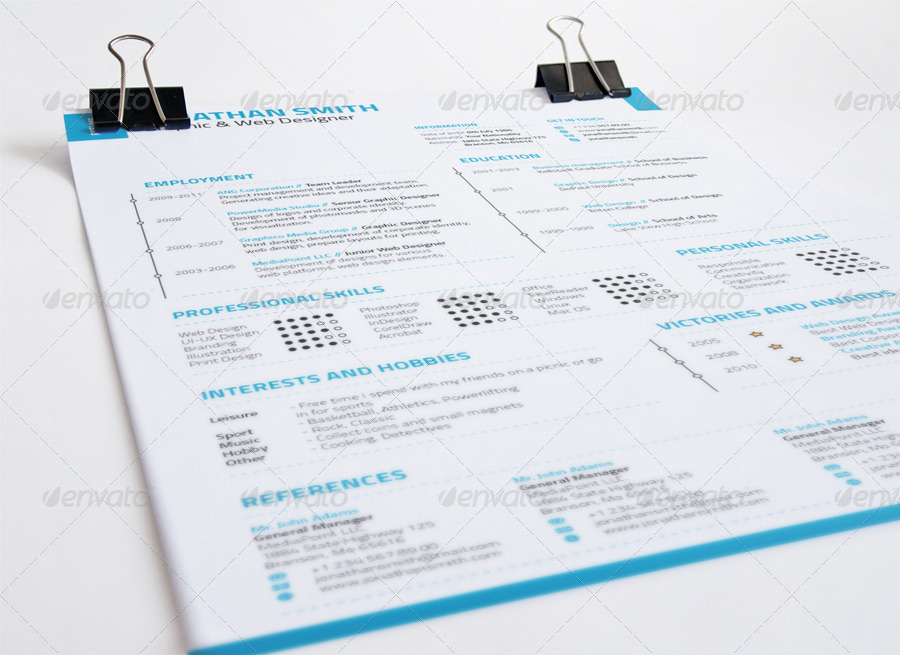 2 piece swiss style resume set by nazdrag graphicriver for Uber letterhead
