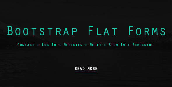 CodeCanyon Bootstrap Flat Forms 7598437