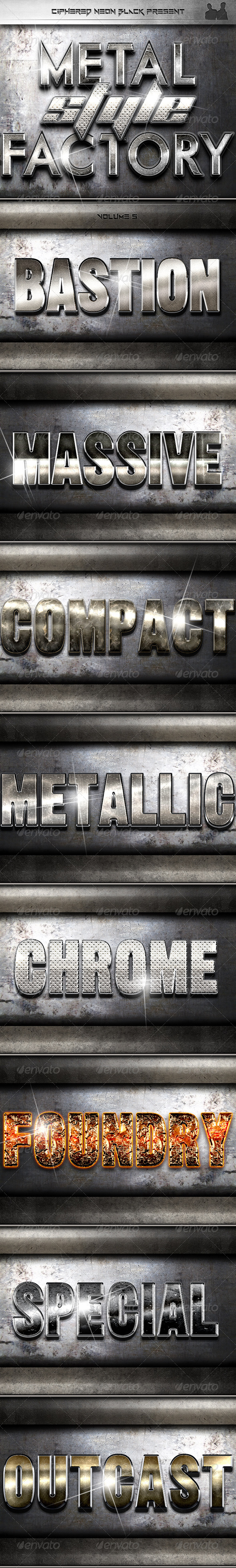 GraphicRiver Metal Style Factory Volume 05 7599262