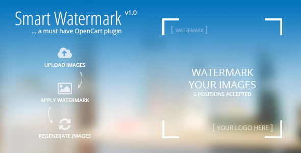 CodeCanyon Smart Watermark A must have Opencart Plugin 7314861