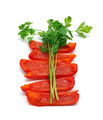 Slice of paprika and parsley - PhotoDune Item for Sale