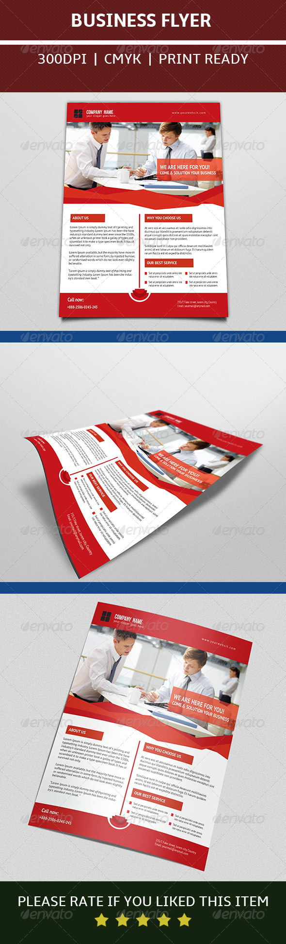GraphicRiver Business Flyer 7595047