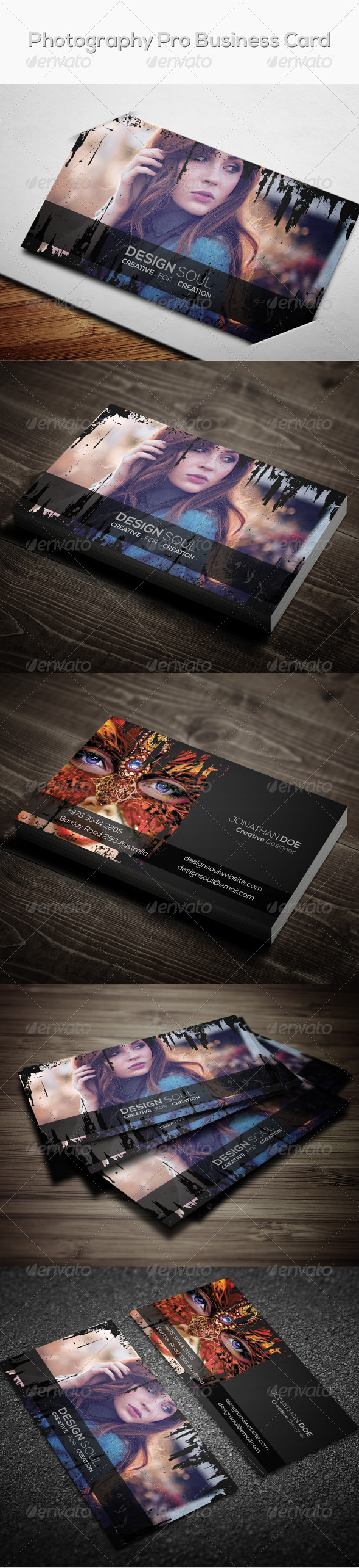 GraphicRiver Photography Pro Business Card 7600022