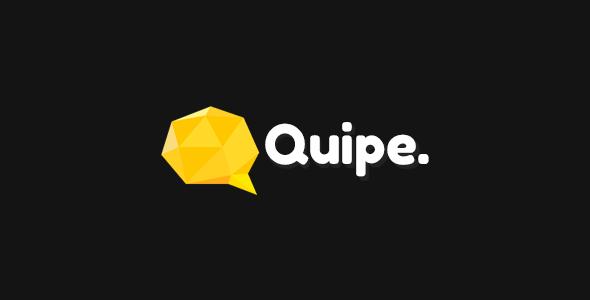 ThemeForest Quipe Responsive Portfolio Template 7600410