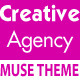 Creative Agency One Page Multipurpose Muse Template - ThemeForest Item for Sale