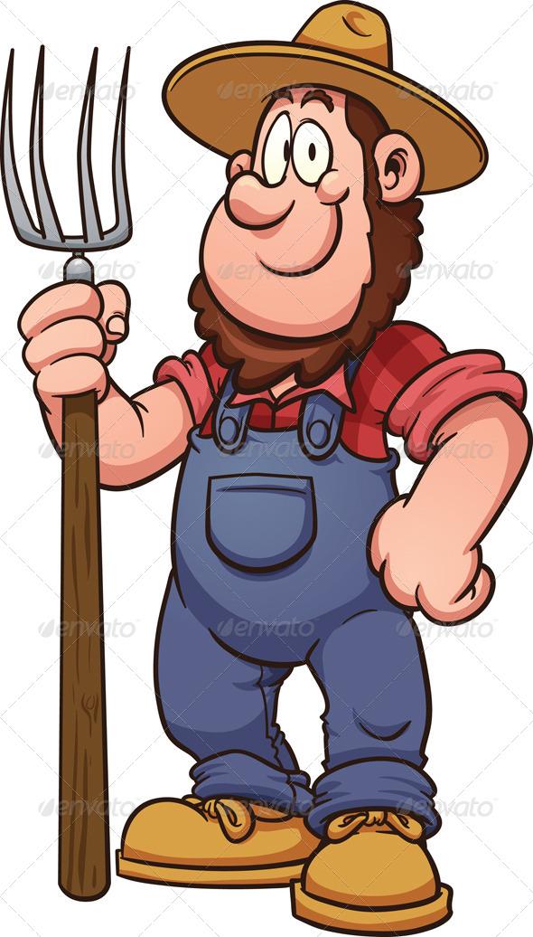 GraphicRiver Cartoon Farmer 7600692