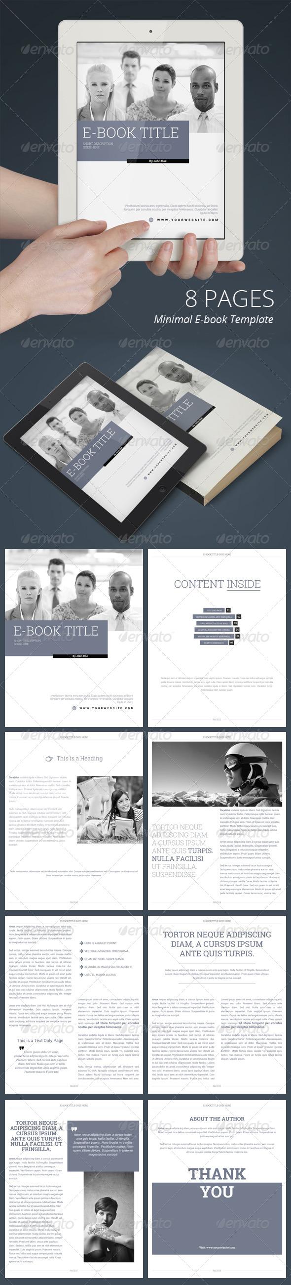 GraphicRiver E-Book Template 7600731