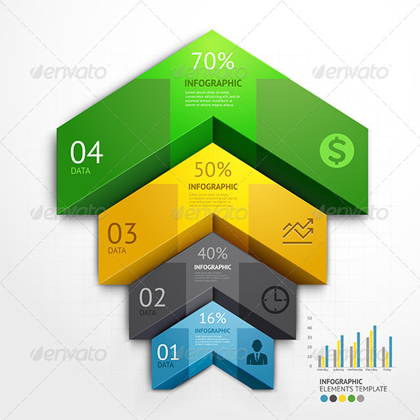 GraphicRiver Infographic Arrow Business Template 7601308