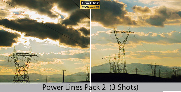 Overhead Power Lines Pack 2