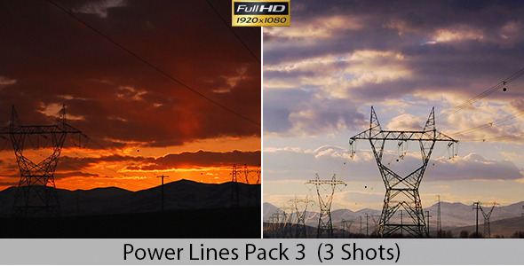 Overhead Power Lines Pack 3