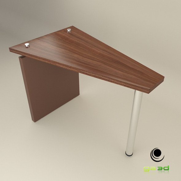3DOcean Office Wedge Table 7602148