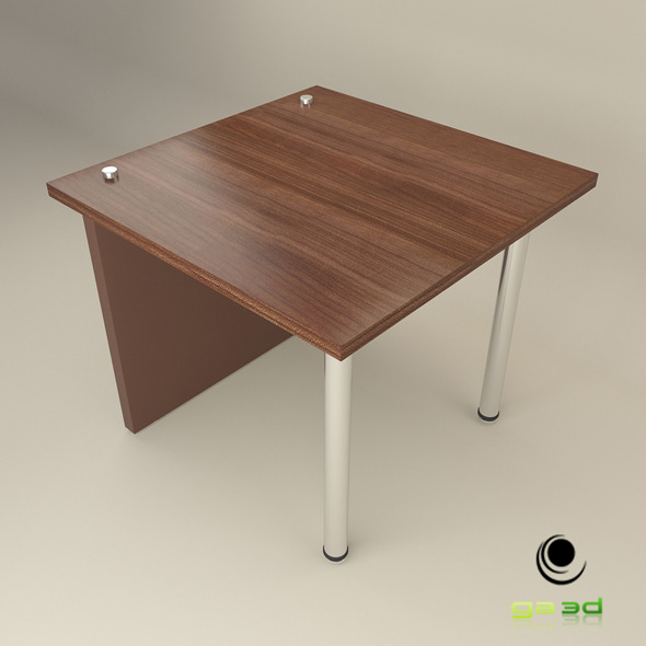 3DOcean Office End Table 7602237