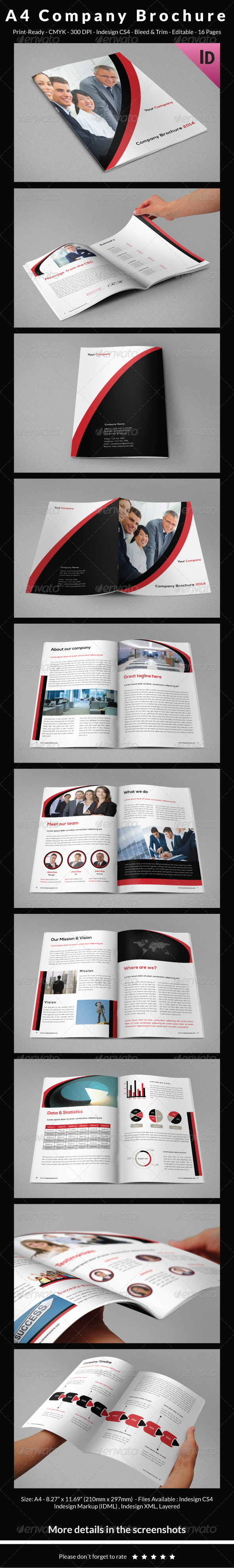Presentation Template InDesign Graphics, Designs & Templates (Page 5)