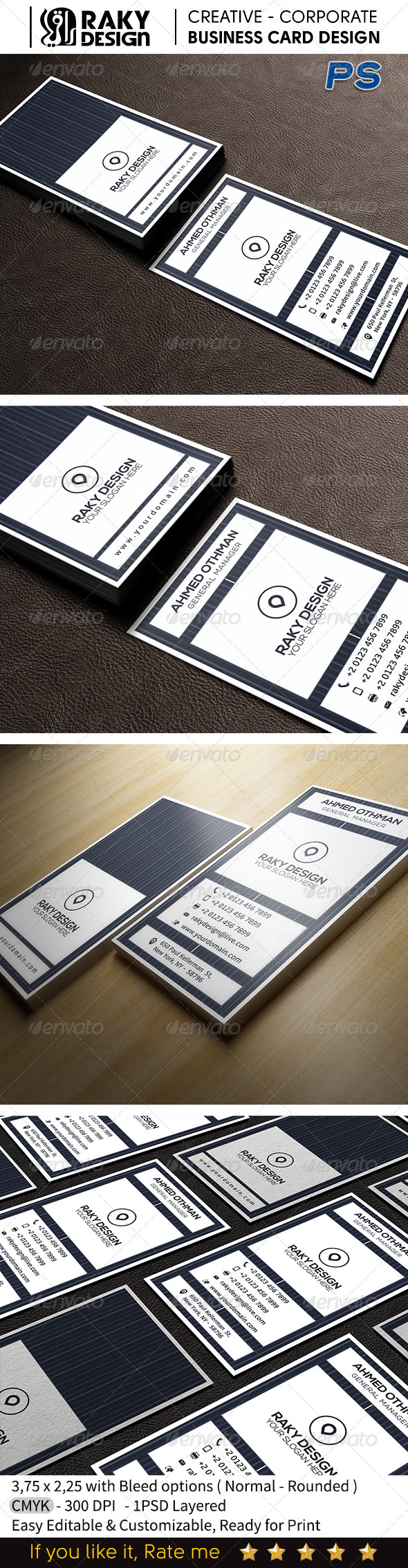 GraphicRiver Corporate Business Card V12 7603270