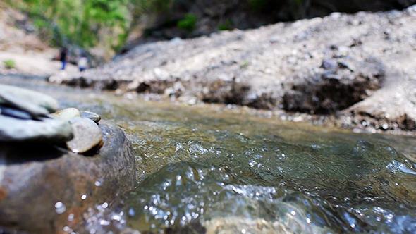 Stream Flowing Water 04