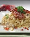 Pasta with mushrooms sauce. - PhotoDune Item for Sale