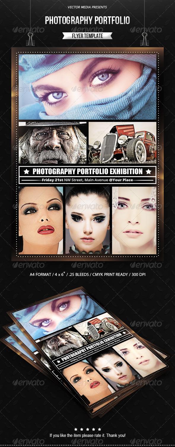 GraphicRiver Photography Portfolio Flyer 7603774