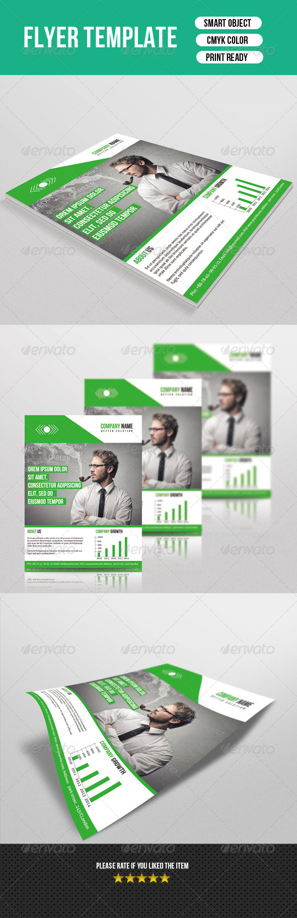GraphicRiver Corporate Flyer Template 7603779