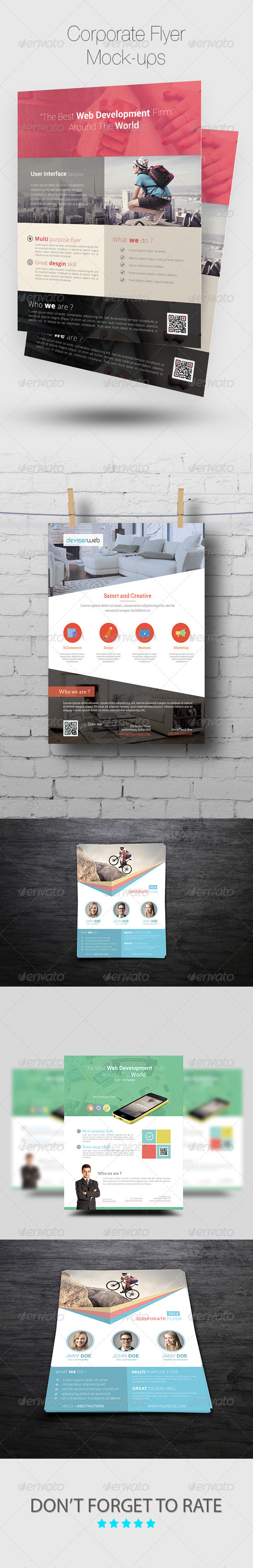 GraphicRiver Flyer Poster Mock-ups 7604070