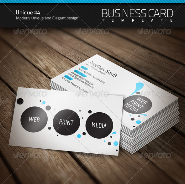 Unique Business Card #4 - Creative Business Cards