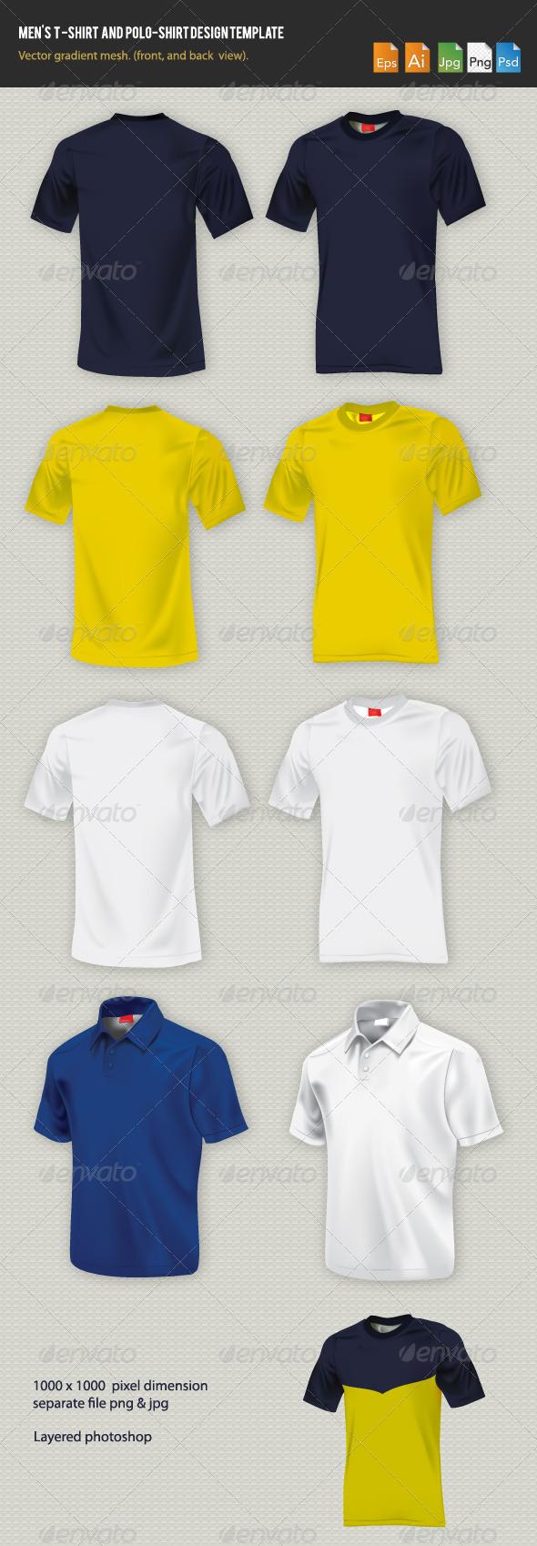 GraphicRiver Men s t-shirt design template 780519
