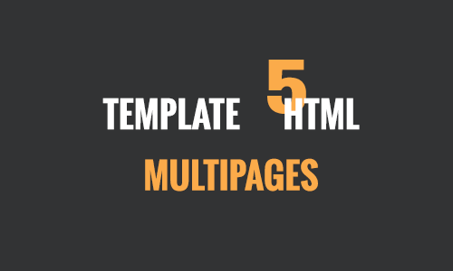 Multi Page HTML 5