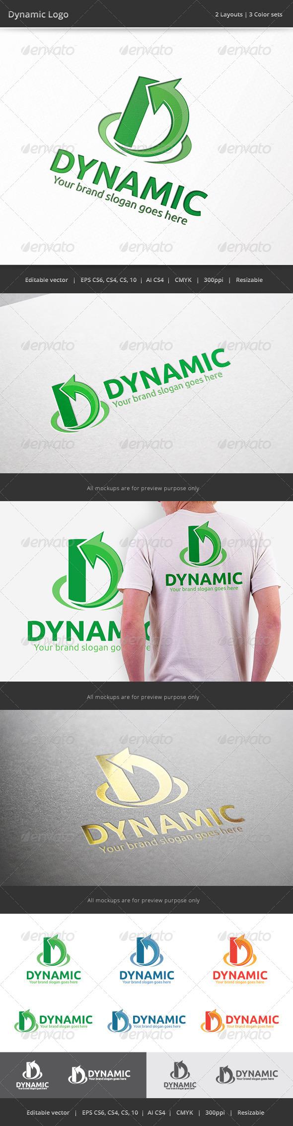 GraphicRiver Dynamic Letter D V2 Logo 7604591