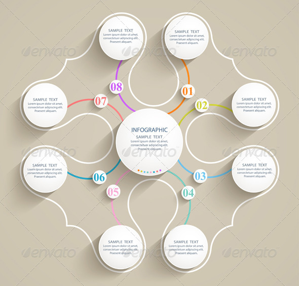 GraphicRiver Abstract Numbered Forms 7604887