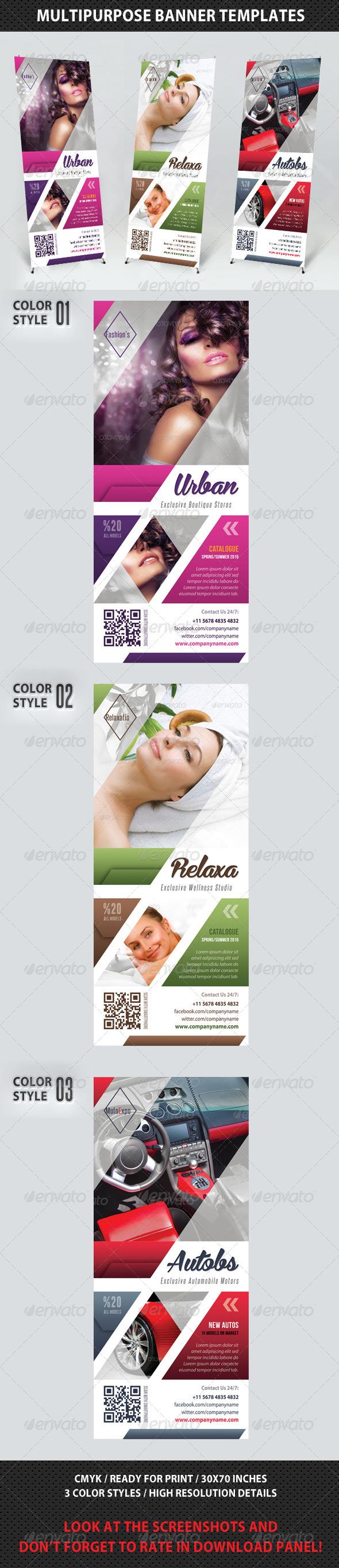 GraphicRiver Multipurpose Banner Template V02 7605248