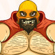 Powerful Wrestler with a Beard and Mask - GraphicRiver Item for Sale