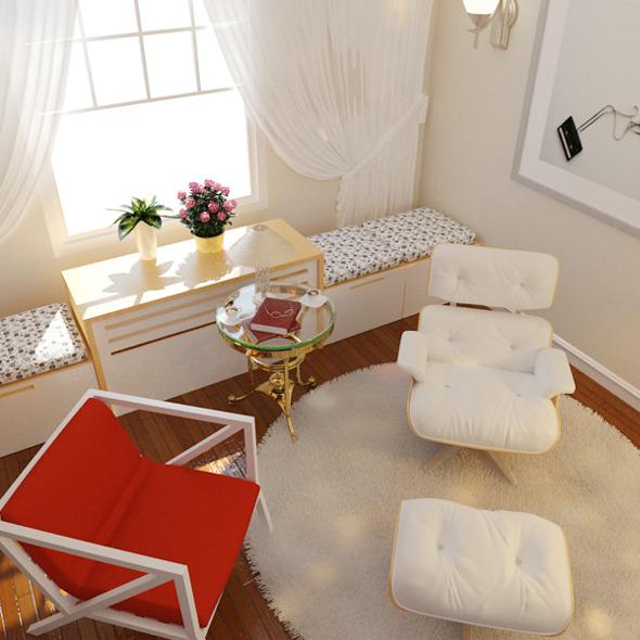 3DOcean Living Room 7605292