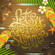 Summer Holidays Illustration - GraphicRiver Item for Sale