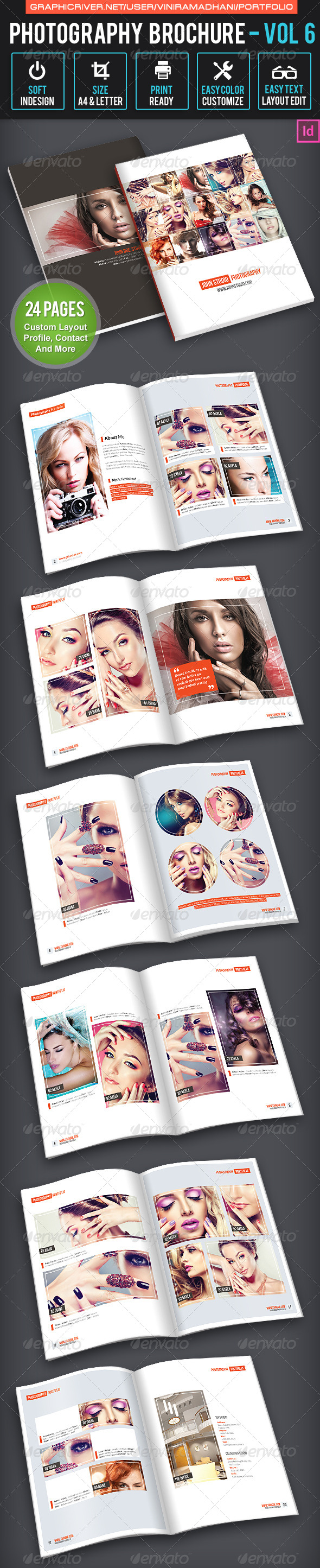 GraphicRiver Photography Brochure Volume 6 7605516