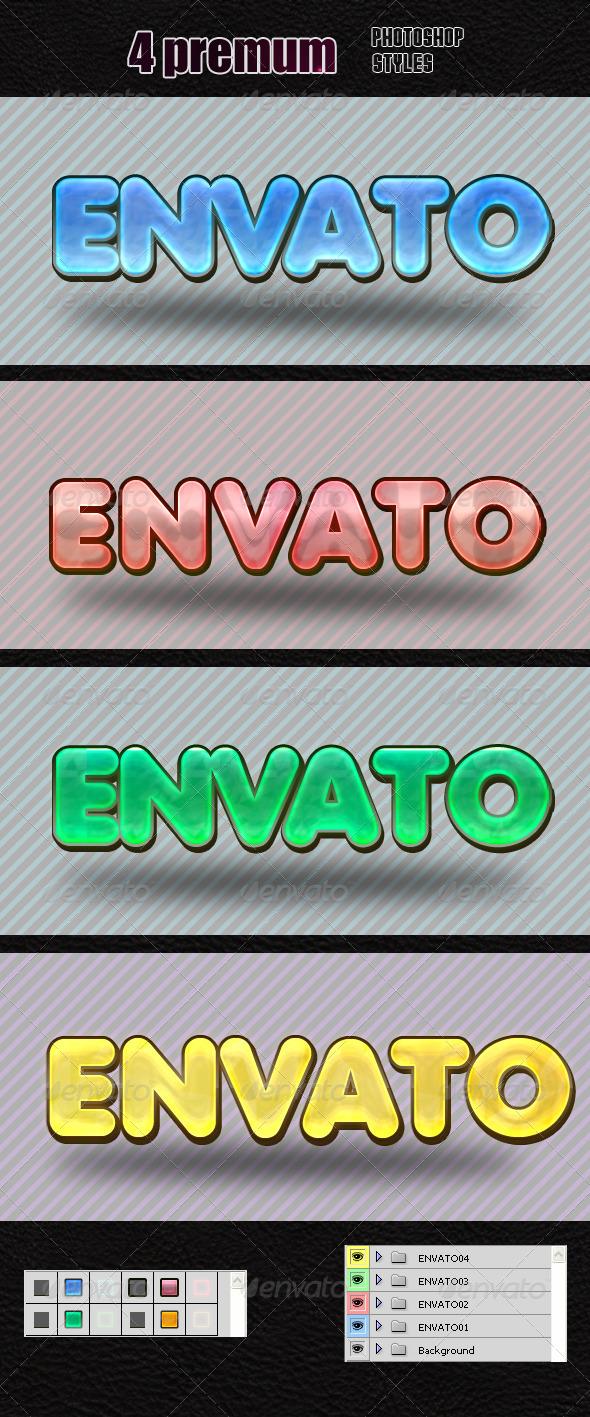 GraphicRiver Styles Photoshop V2 7605533