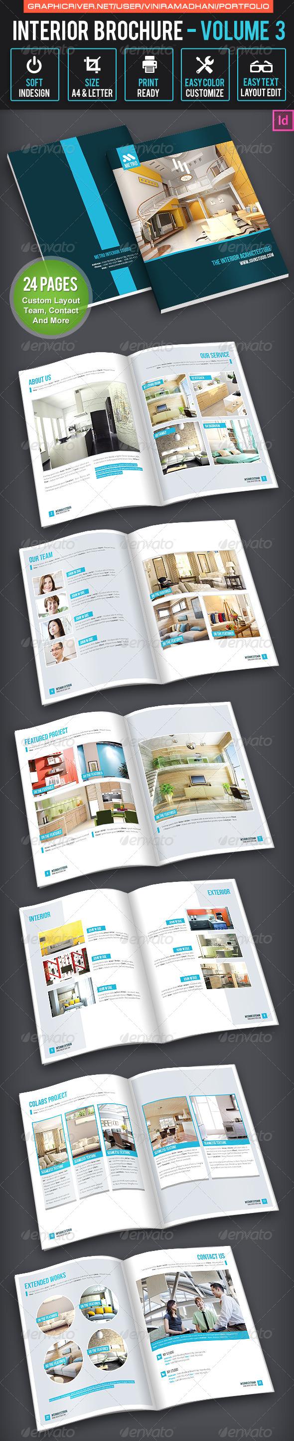 GraphicRiver Interior Brochure Volume 3 7605540