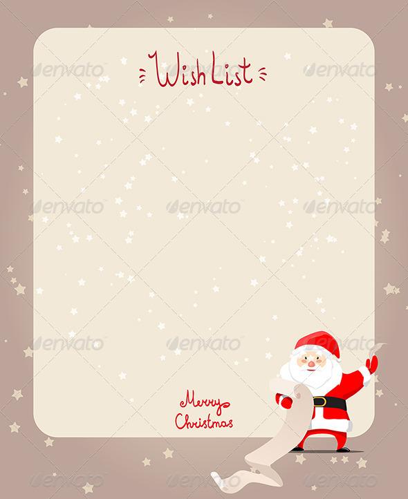 GraphicRiver Christmas Wishlist 7605939