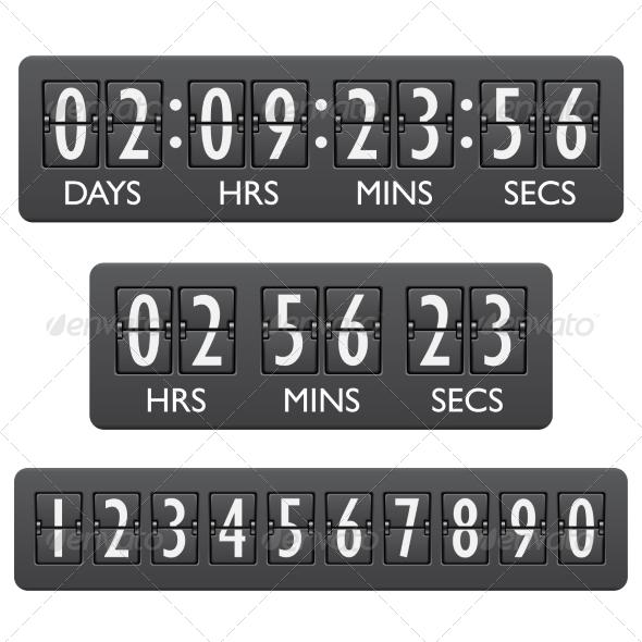 GraphicRiver Countdown Timer Emblem 7606495