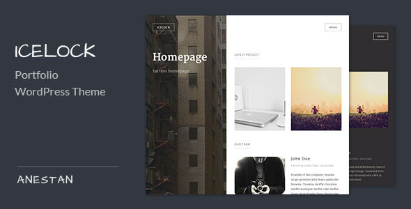ThemeForest Icelock Portfolio WordPress Theme 7606512