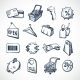 Shopping Sketch Icons - GraphicRiver Item for Sale