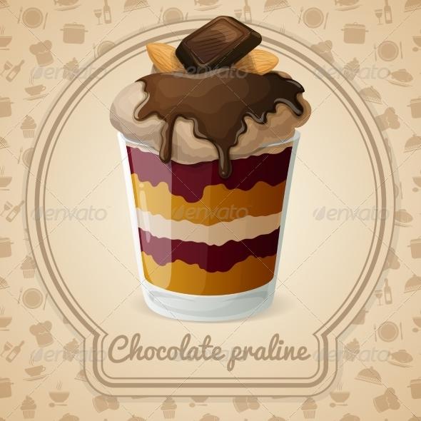 GraphicRiver Chocolate Praline Poster 7606534