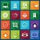 Social Media Icons Set - GraphicRiver Item for Sale
