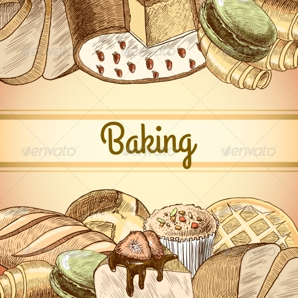 GraphicRiver Baking Pastry Poster 7606552