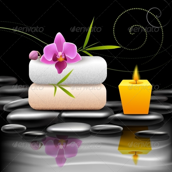 GraphicRiver Spa Dark Background 7606596